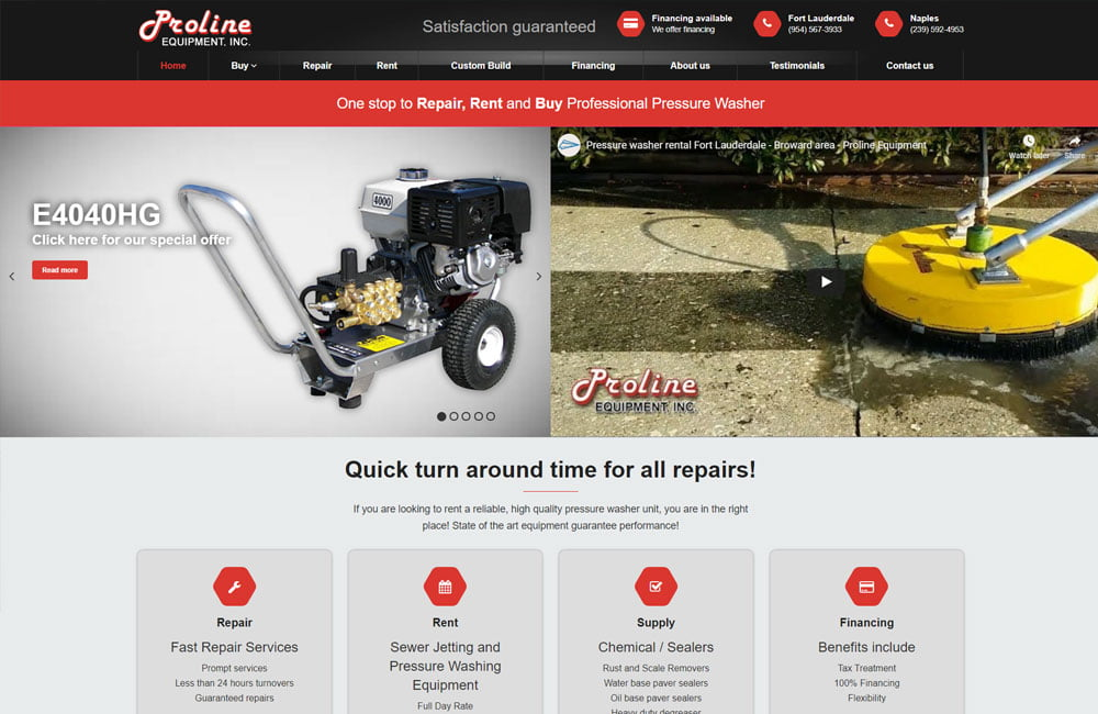 Proline Equipment