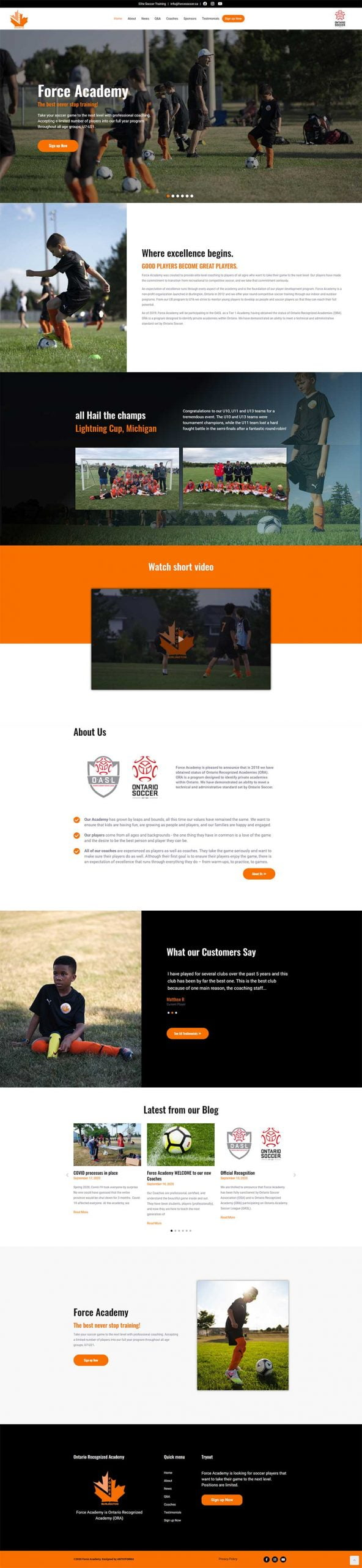Force Soccer Academy